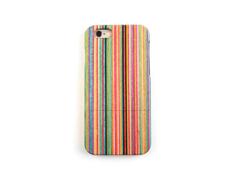 China solid wood colorful phone case for iphone 6s mobile phone spare parts for alcatel