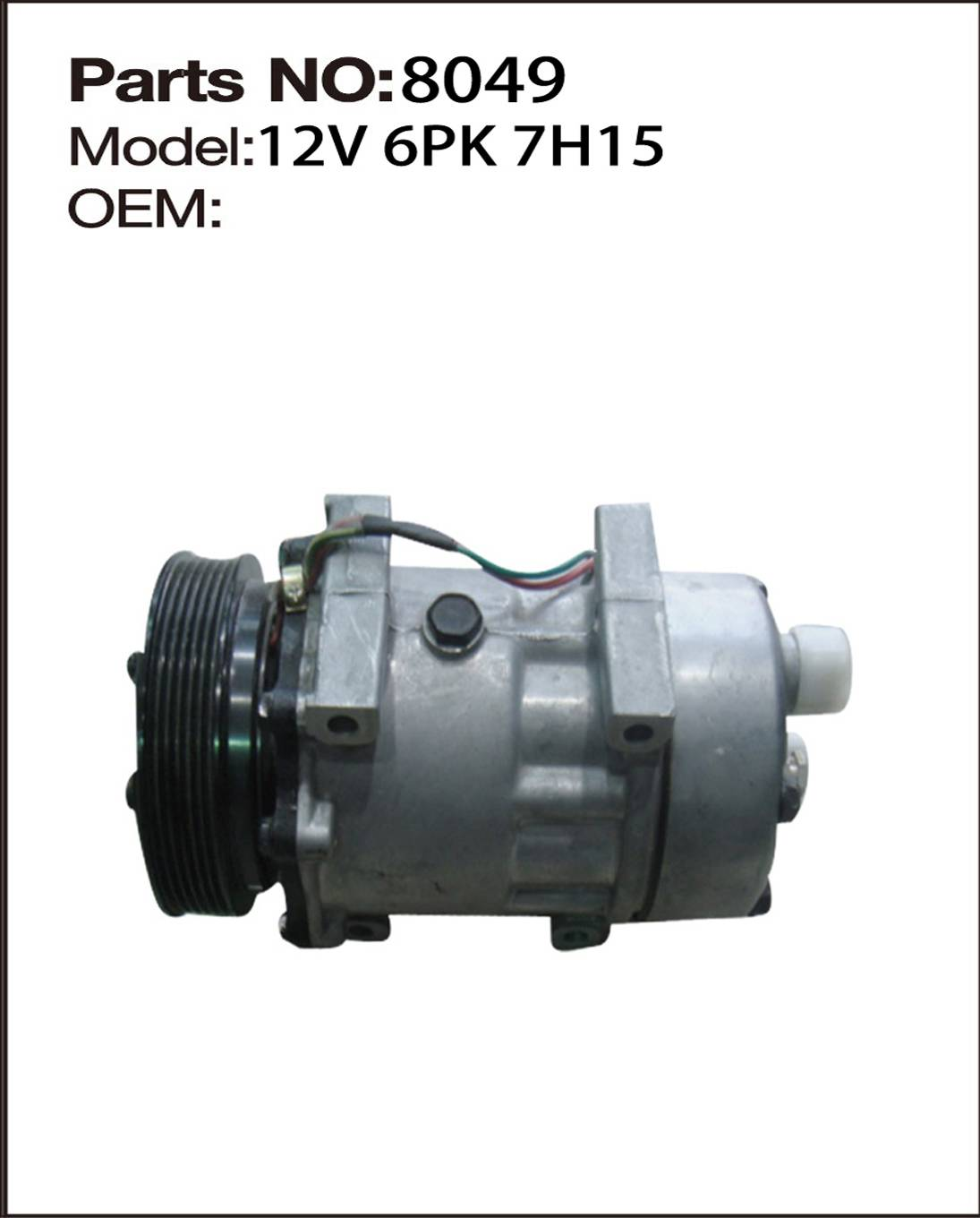 good quality aniveral use compressor auto ac parts