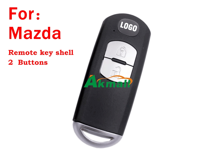 Auto 2 buttons remote key shell for Mazda