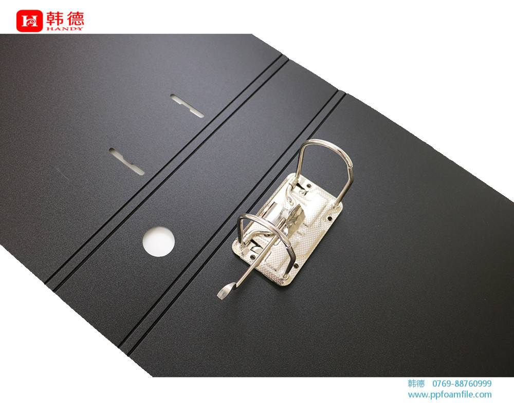lever arch file with PP foam sheet cover