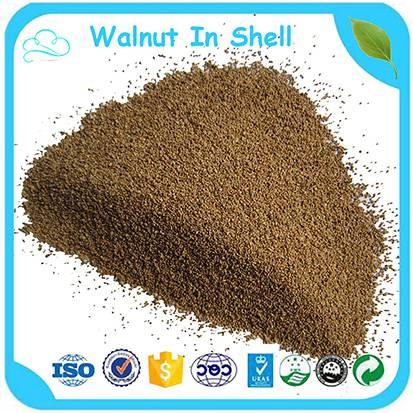 Factory Price Granular 2-4 mm Walnut Shell Water Treatment Media