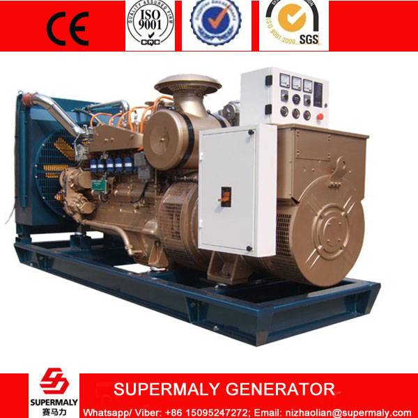100KW 125KVA Natural Gas Generator set by Cummins Engine with CHP system