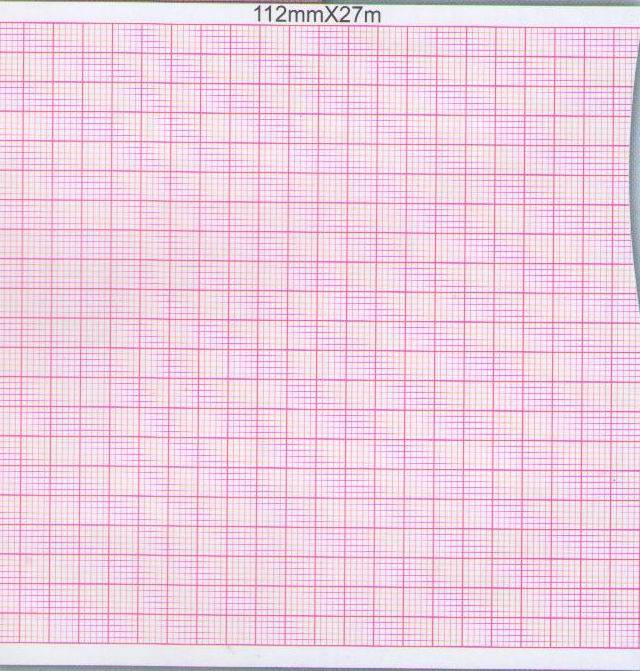 Six-Conduct Electrocardiograph Paper-112mmX27m