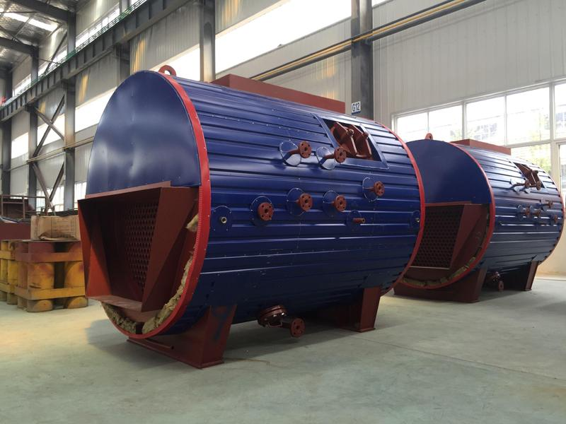 500KW/700KW Horizontal Waste Heat Boiler Flue Gas Heat Recovery Boilers for Generator Set
