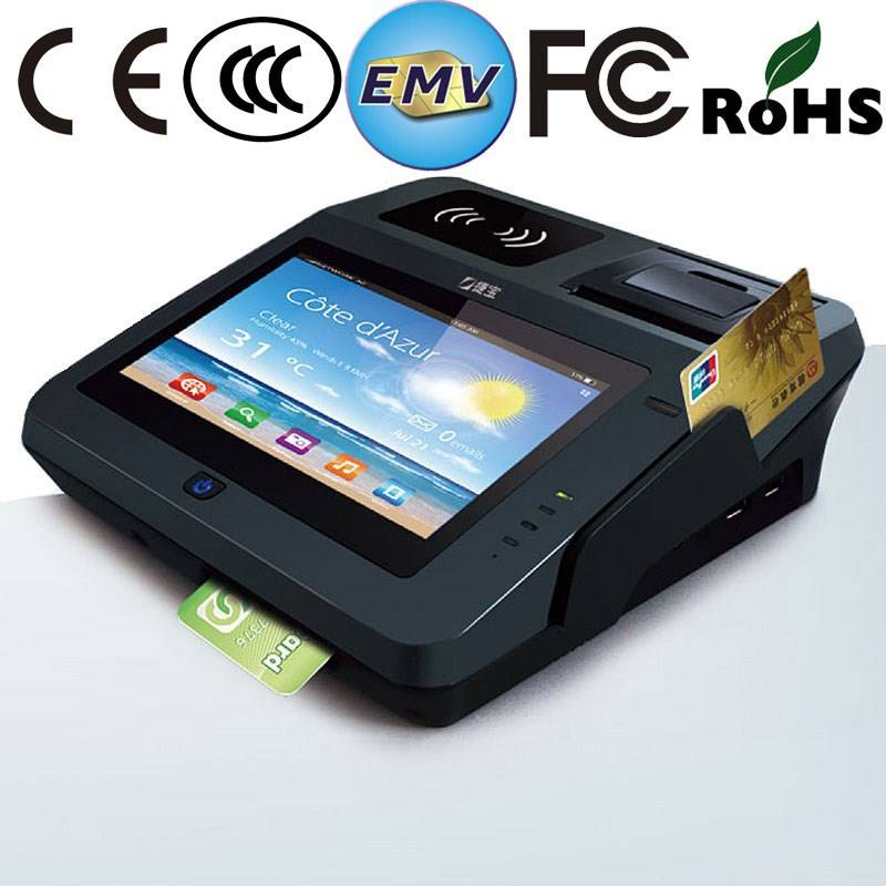 Tablet Swipe Card Android Pos Machines