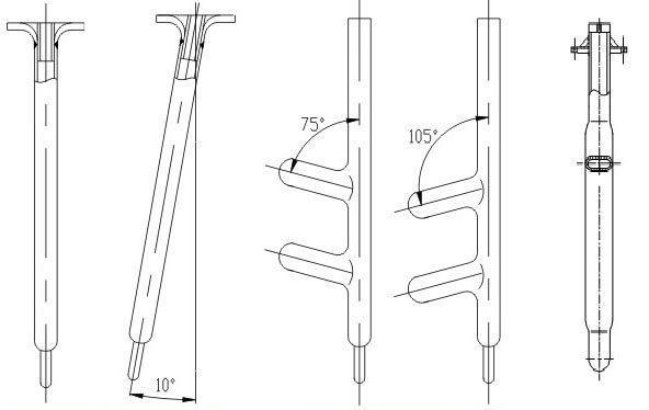 Glass-lined Thermometer Pocket