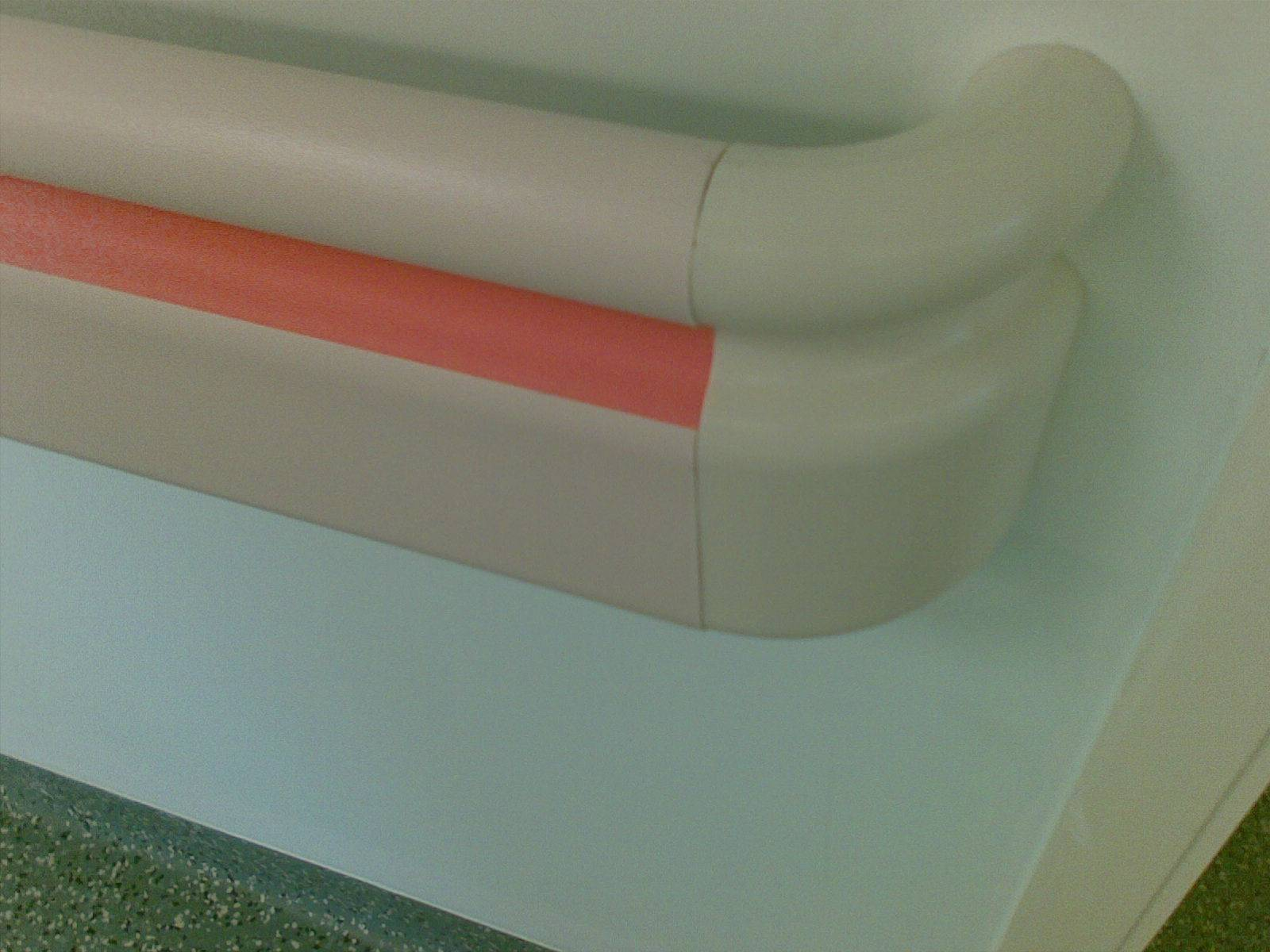 Anti-bumpimg handrails