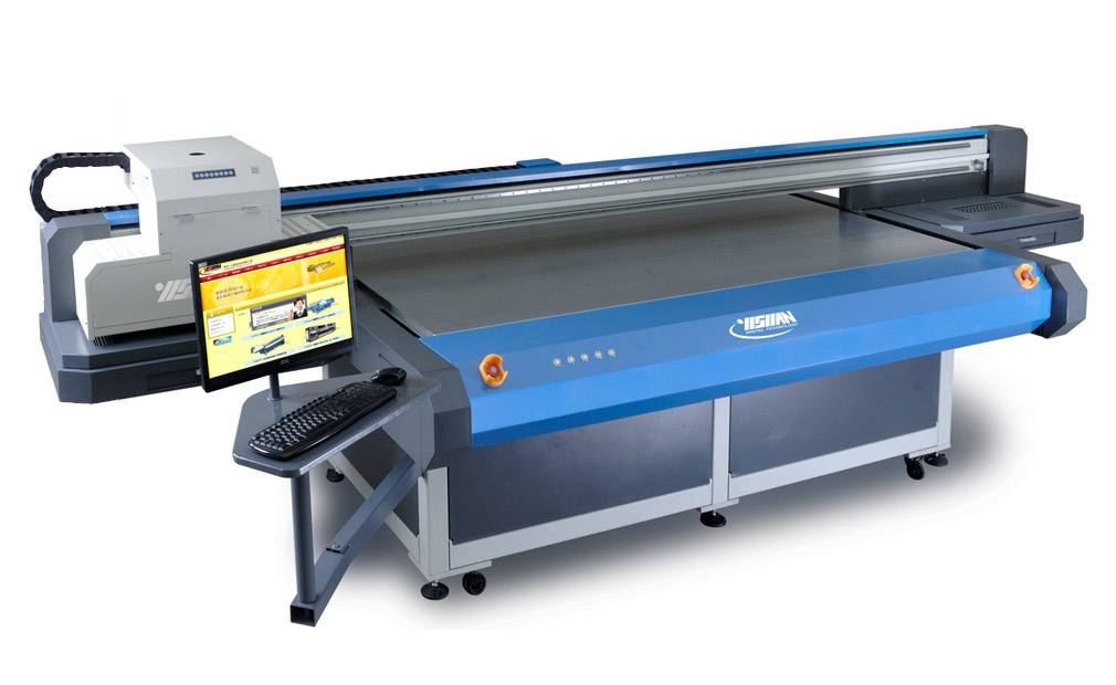 UV flatbed inkjet printer