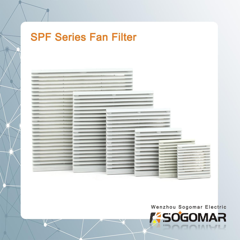 Plastic Fan Filter SPF9801-9806