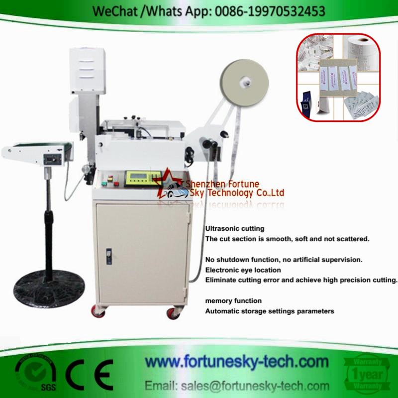 Fully Automatic Ultrasonic Label Cutting Machine
