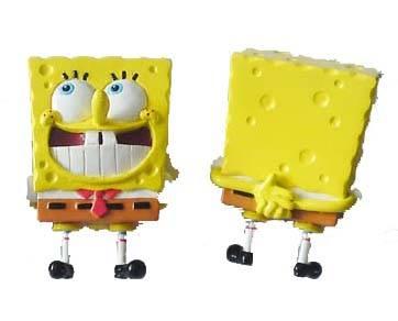 Customize PVC SpongeBob funny Cartoon toy
