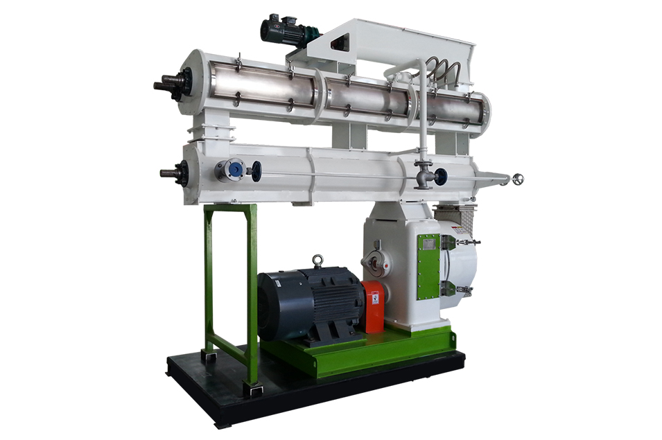 SZLH Multilayer Conditioner Feed Pellet Mill