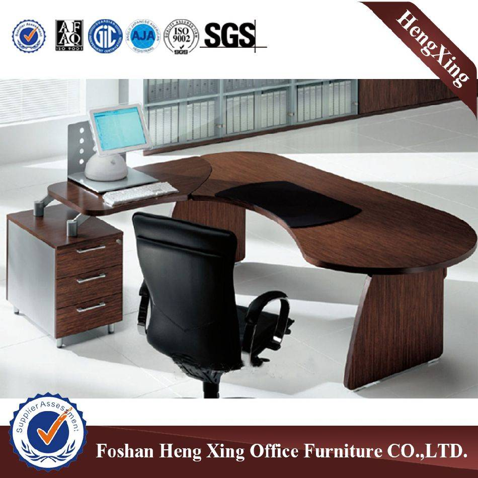wooden desk manager executive table office furniture HX-RY0039