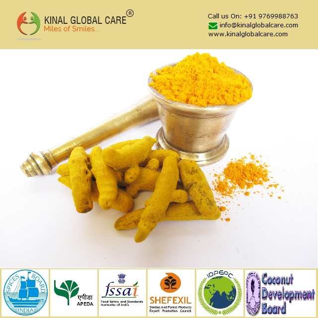 Grounded Best Quality Turmeric Powder
