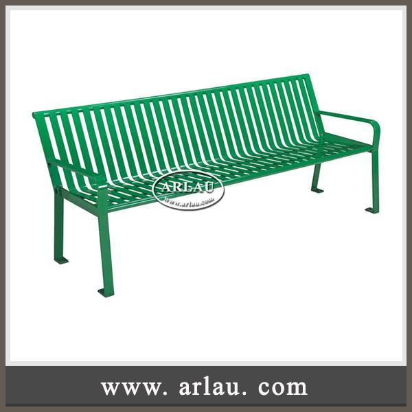 Arlau outdoor furniture factory, outdoor patio benches, wrought iron garden benches