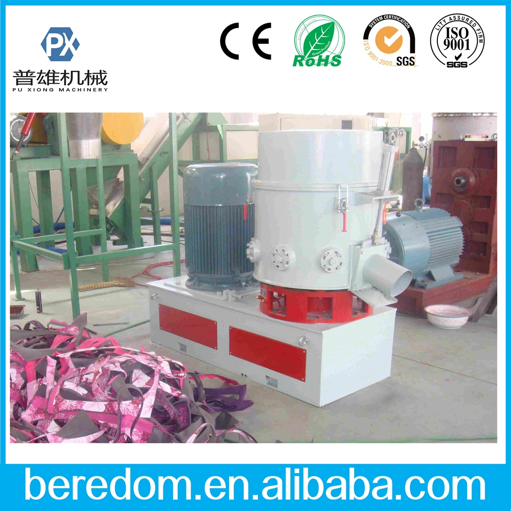 Film fiber agglomerator machine