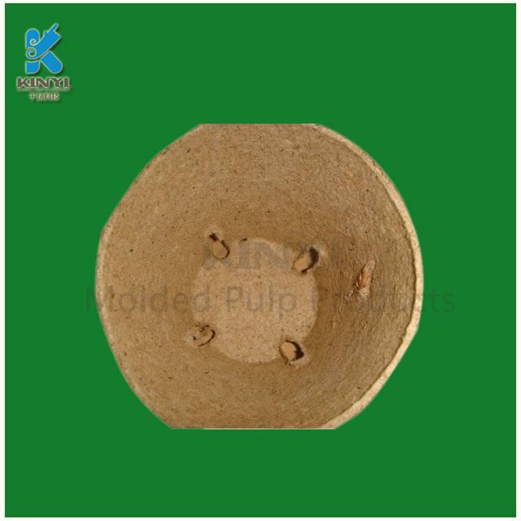 Eco-friendly pulp paper nursery pots
