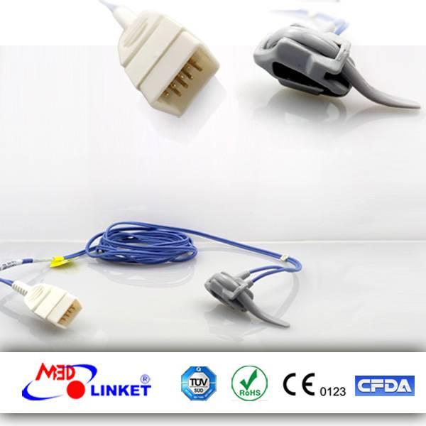 Direct Connect Reusable SpO2 Sensor S0076F-L