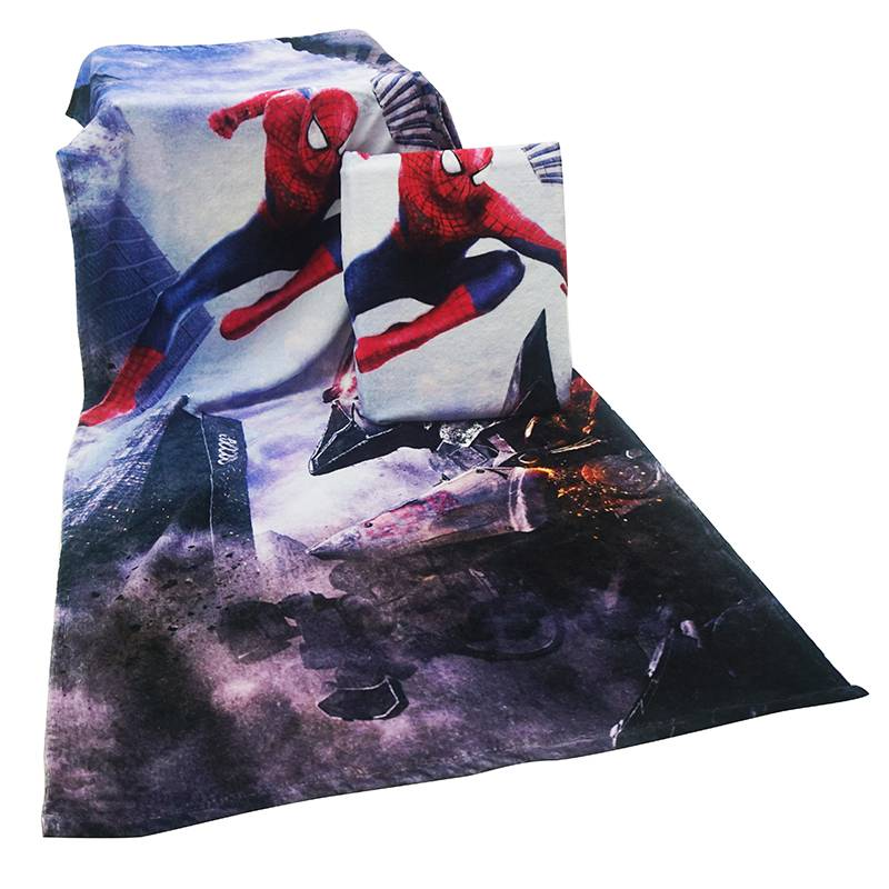 Factory Bath Towel Digital Printed Towel Customized Cotton Towel