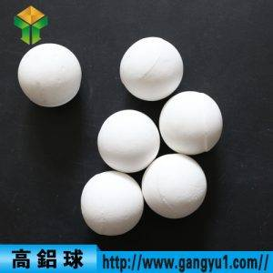High aluminum ball