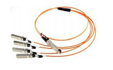 40G QSFP+ to 4X 10G SFP+ breakout Active Optical Cables