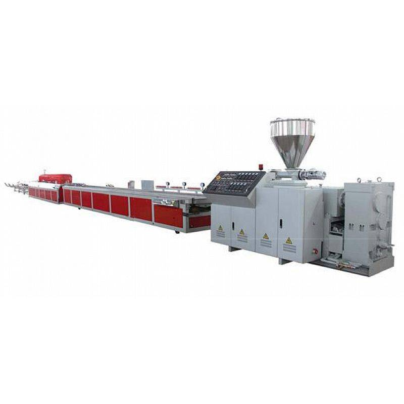 PVC decking machine line