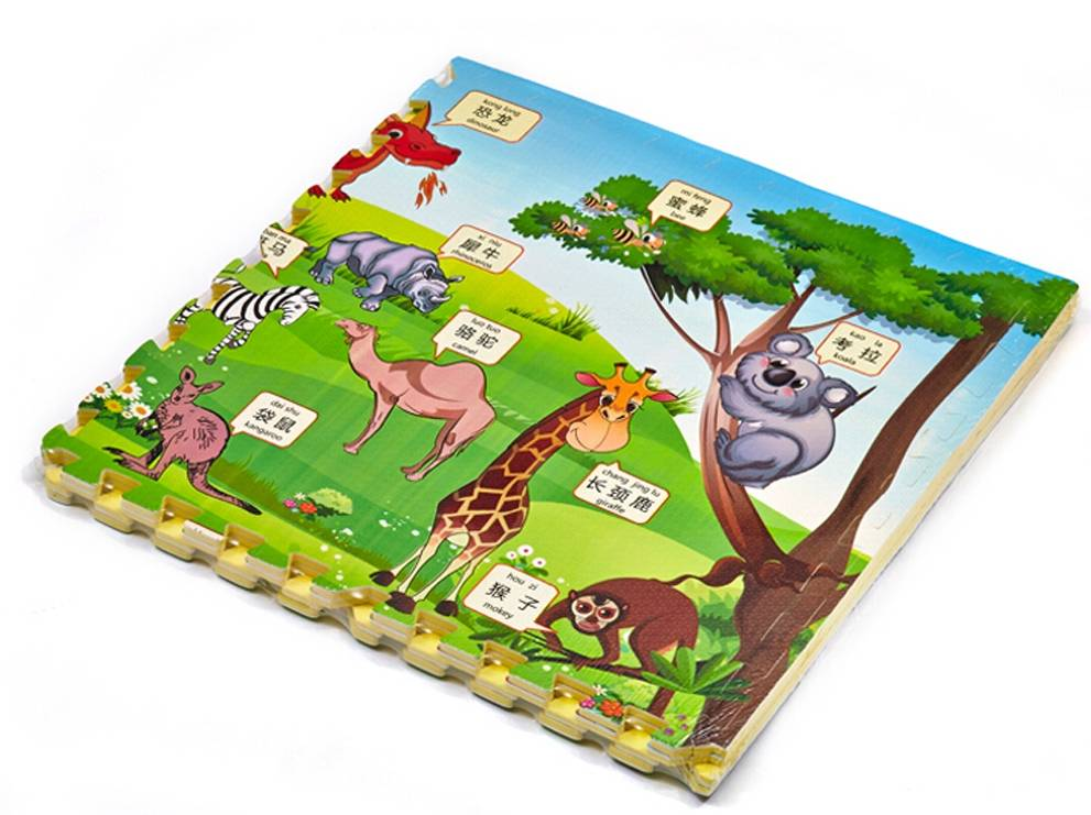 600*600*10mm puzzle mat