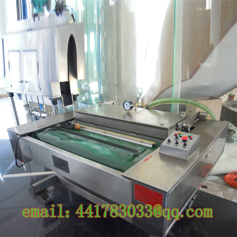 DZ1000C continuous vacuum sealer Large food vacuum packaging machine Meat vacuum machine