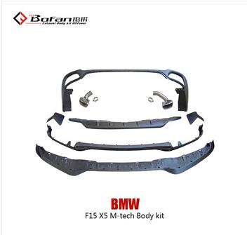 New X5 F15 M-tech aero kit,Hot sale