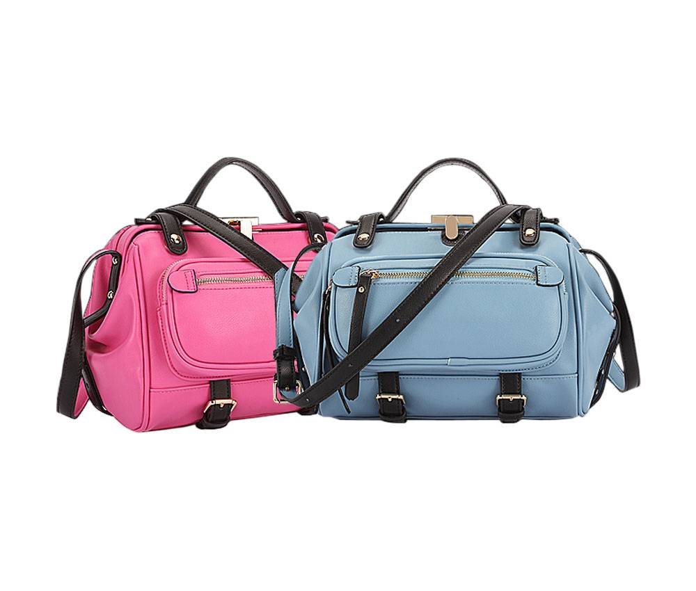 Haoyeah 2015 Fashion Female Bag Doctor bag Simple Relaxation Retro Shell Handbag Tote Bag Gym Bag Sp