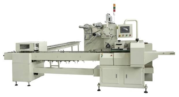 On Edge Biscuit Wrapping Machine/Free-tray Biscuit Packing Machine