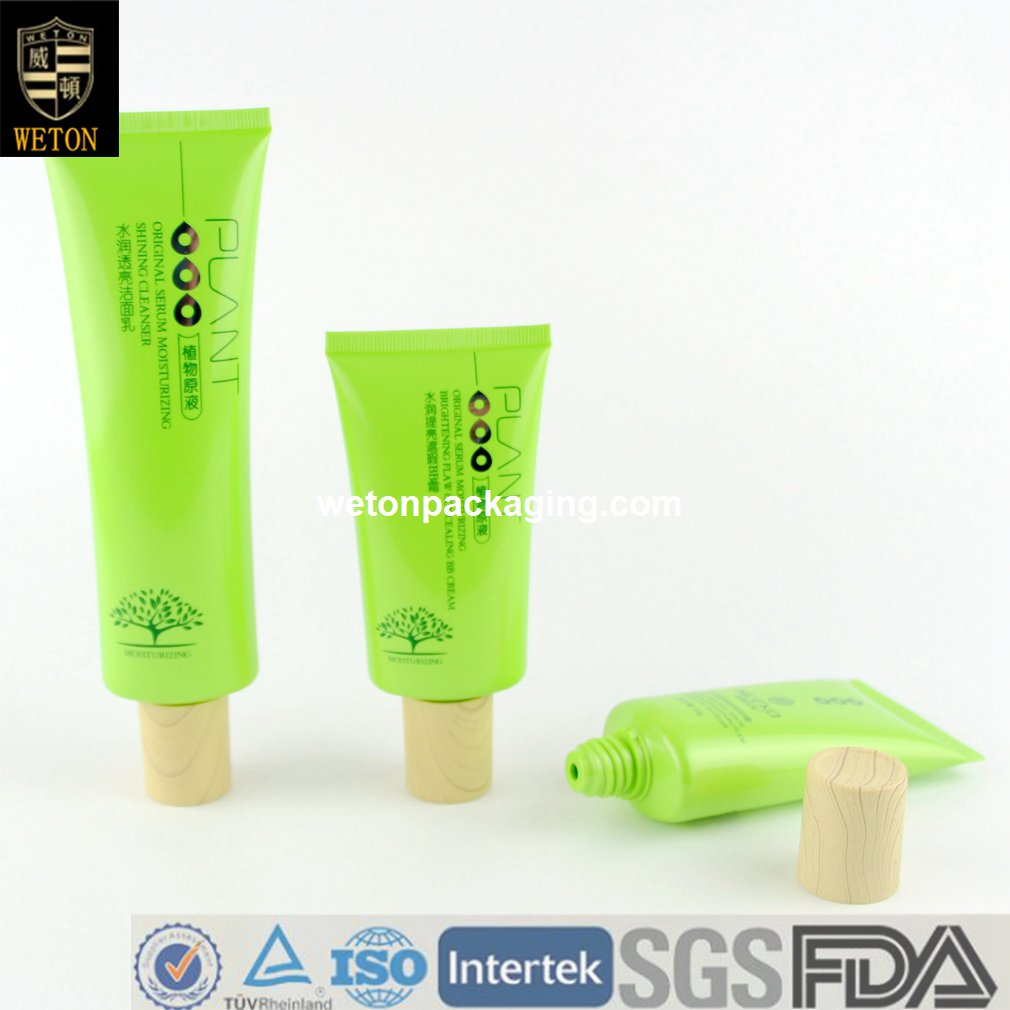 Bamboo Wood BB Cream Cosmetic Tube