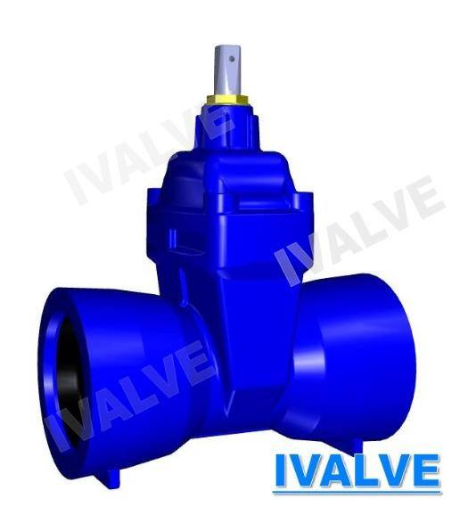 Resilient Seated Gate Valve socket for ductile iron DI pipe