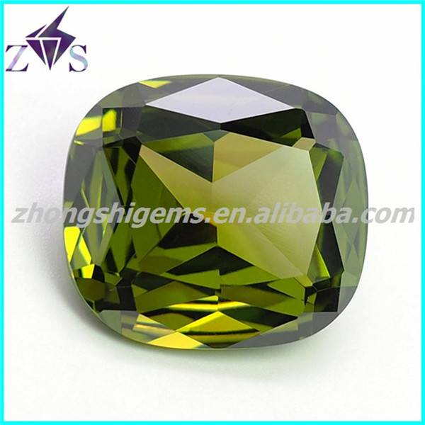 Cushion Cut CZ Stone for Jewelry Making