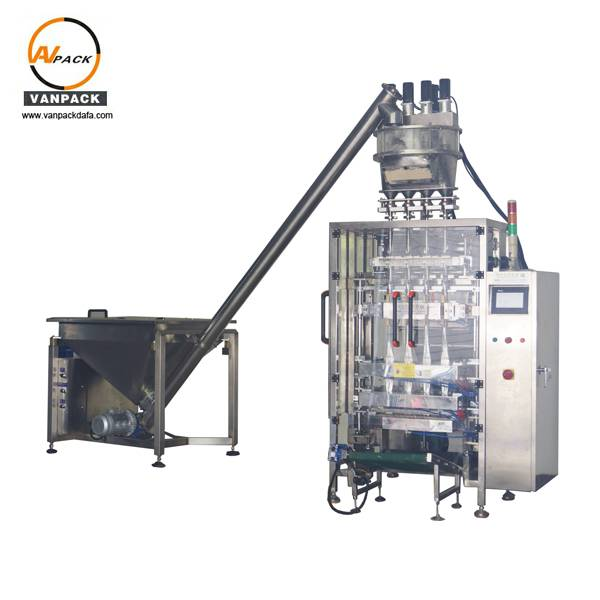 Powder Multi Lanes Stick Packing Machine