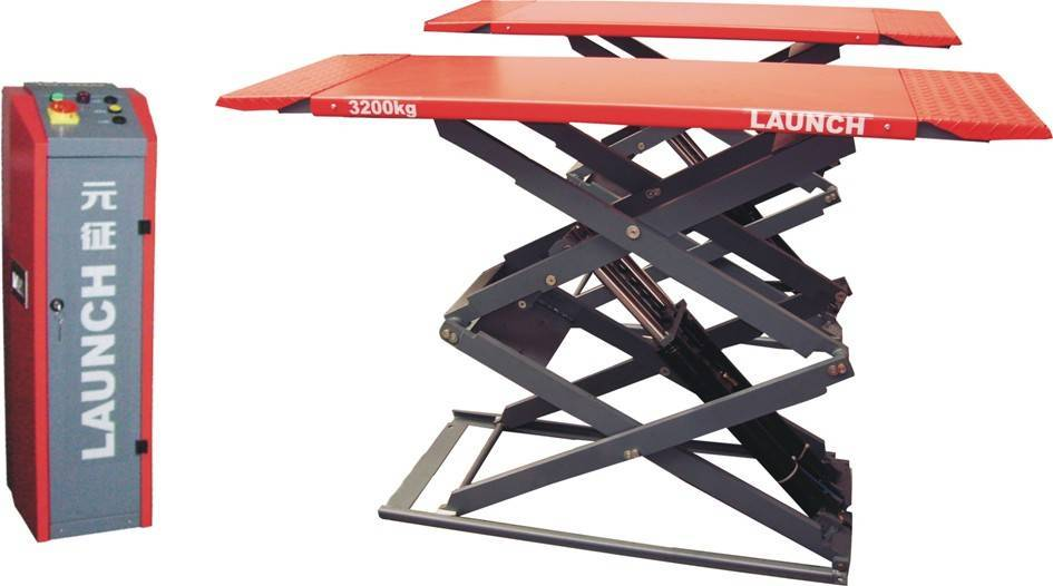 launch TLT632AF Double Scissor Lift