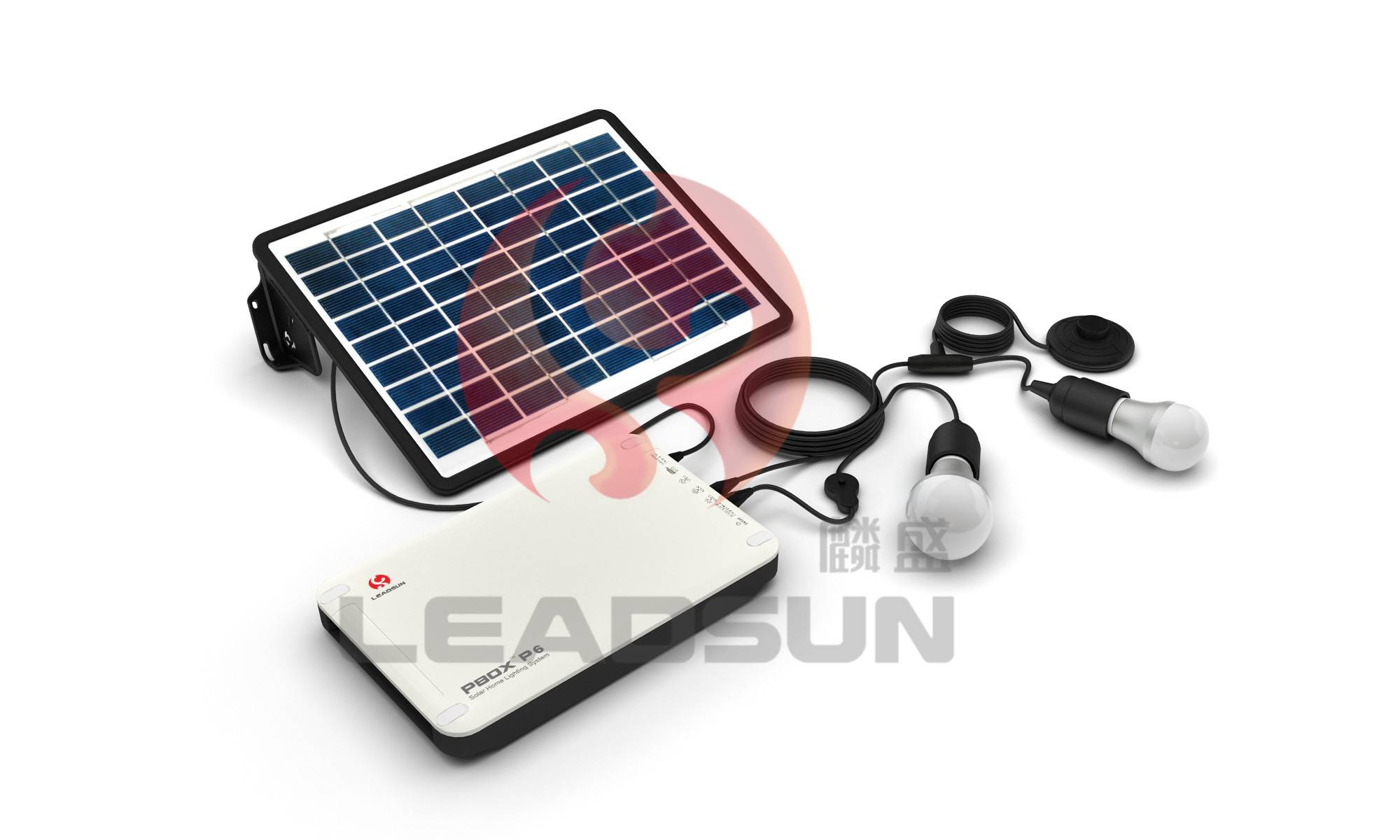 Portable solar lighting products solar system for home