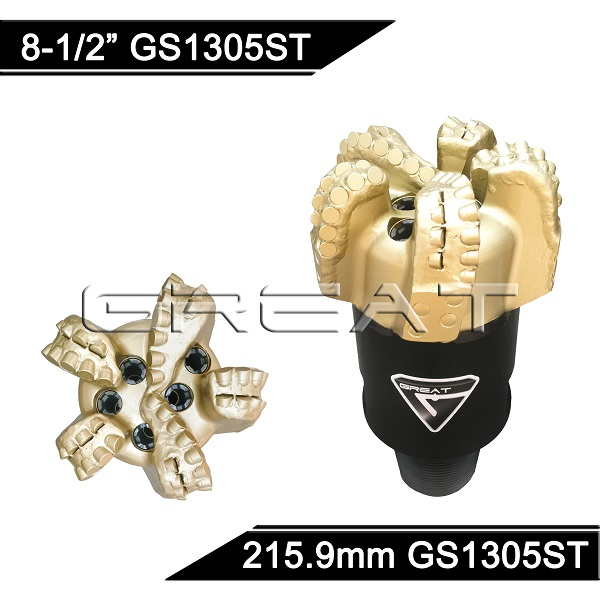 GREAT GS1305ST Steel Body PDC Drill Bit