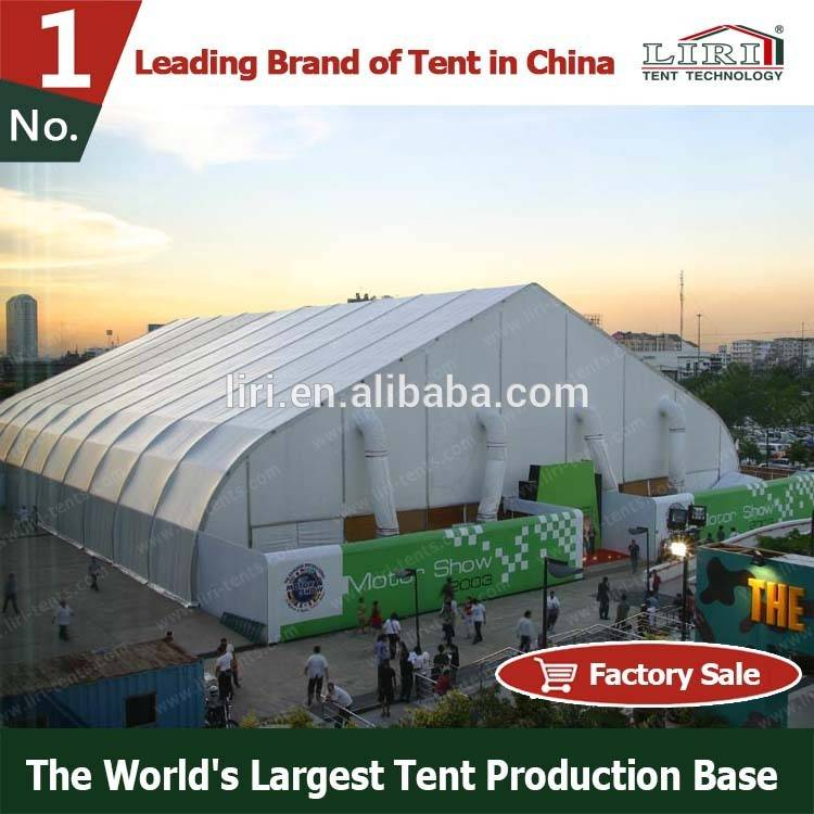 Hot Sale Commercial TFS Curve Marquee Tent Supplier
