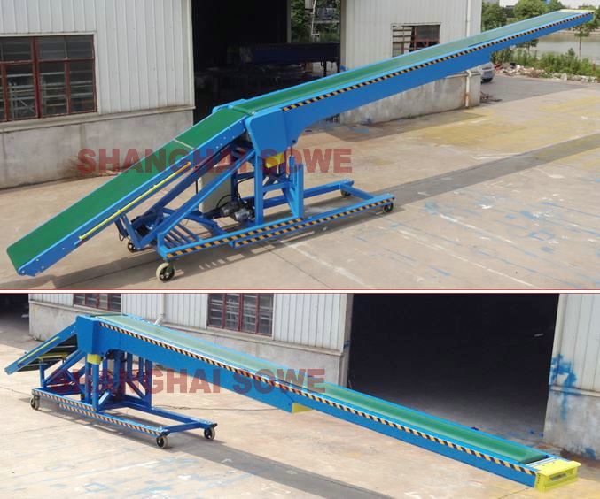 SVMVL8 Movable Van Loader/Telescopic Conveyor