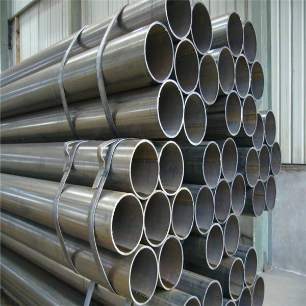 Welded steel pipe manufacture