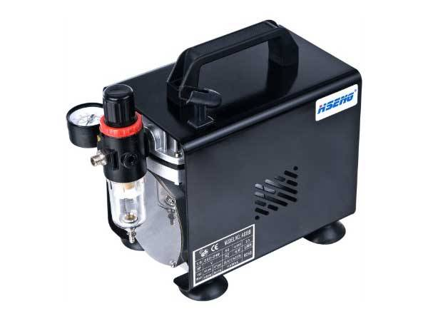 HaoSheng AS18B Airbrush Compressor for hair