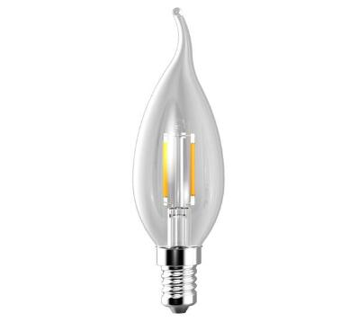 C35 Led Candle filament bulb CE & ROHS philips and osram