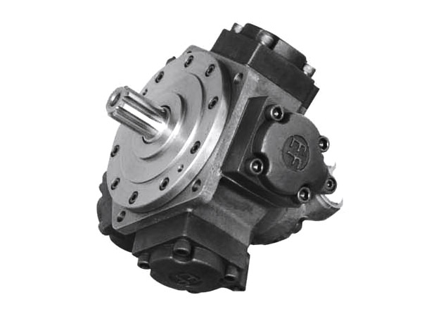 low speed high torque radial piston hydraulic motorYJMEF2