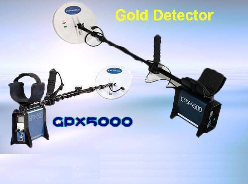 Best Quality Underground Gold Detector With LCD Display GPX-5000/GPX4500