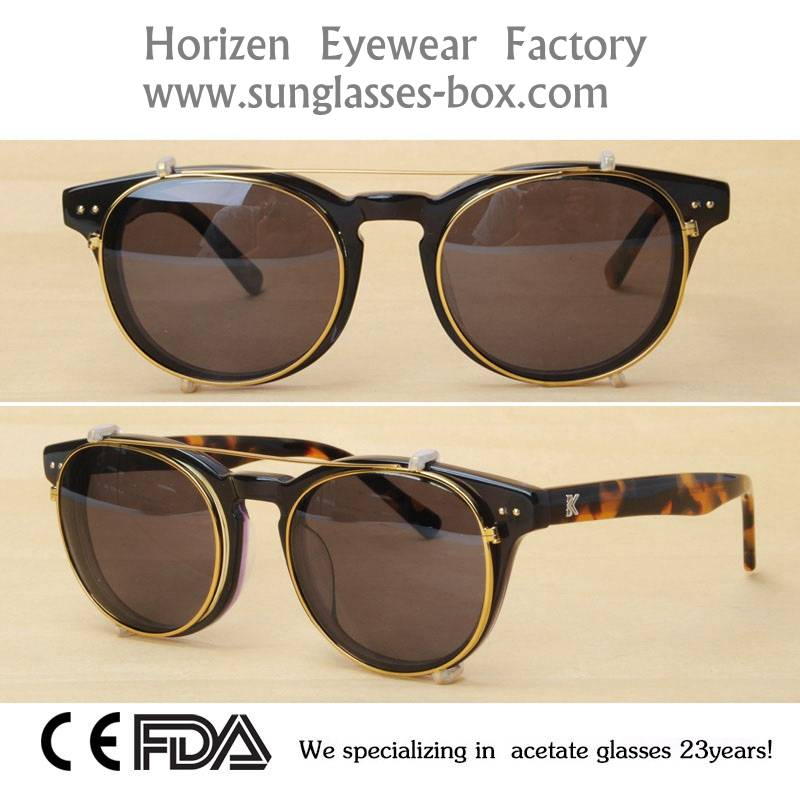 New Style High Quality Acetate Frame Glasses