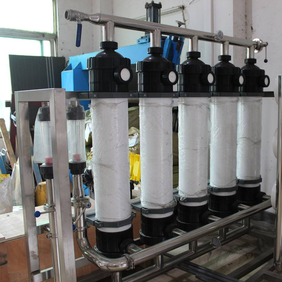 manual/automatic ultrafitration system for water treatment