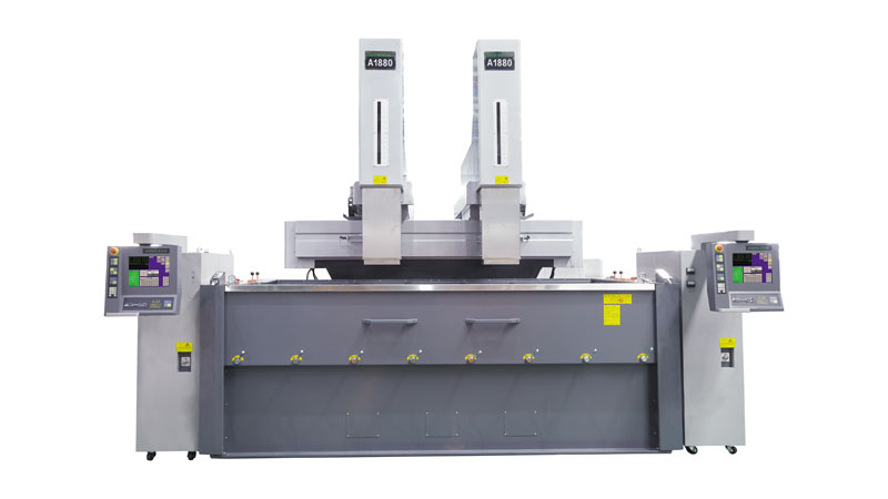 Double Heads Large CNC EDM Machine