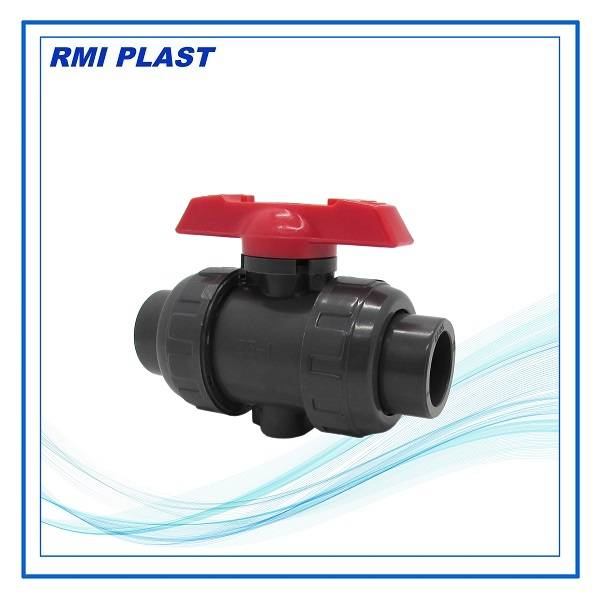 PVC,CPVC, PVDF, PPH true union ball valve socket end ANSI, JIS, DIN, CNS