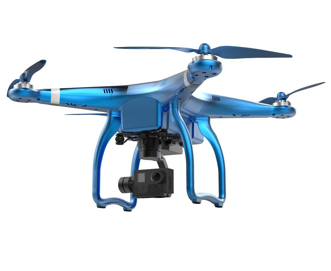 2.4G 3 axis and 5.8G drone with hd camera real time aerial GPS 4k drone for follow me function low p
